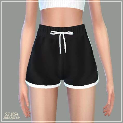 SIMS4 Marigold: Training Shorts ? Sims 4 Downloads