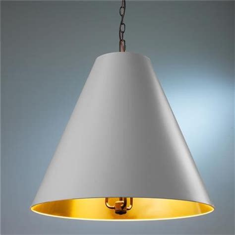 oversized cone shade pendant contemporary pendant