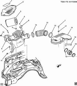 Chevrolet Colorado Hose  Engine Crankcase Ventilation