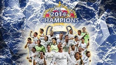 Madrid Wallpapers 3d Champions League Uefa Hala