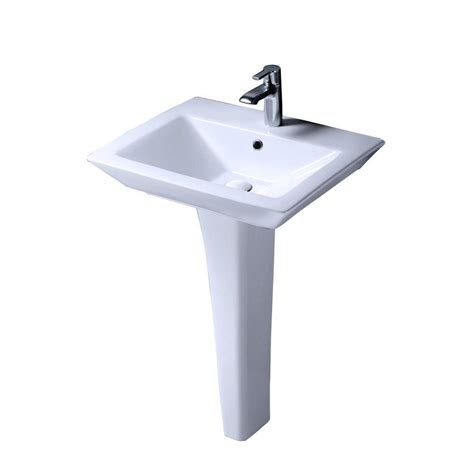 home depot pedestal sink barclay products aristocrat pedestal lavatory combo