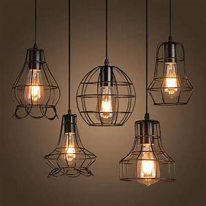 Aliexpress buy new loft iron pendant light vintage