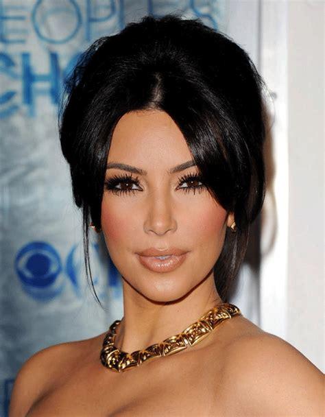 Coupe de cheveux Kim Kardashian (1)   Coiffure tendance femme 2017