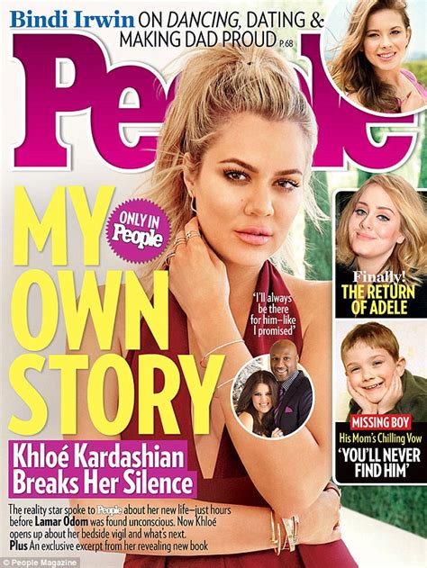 Khloe Kardashian finally breaks her silence over Lamar ...