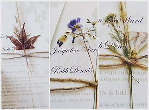 I loved my wedding invitations collected and dried flowers for Wedding invitations dried flowers