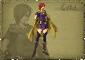 Leila Fire Emblem Blazing Sword