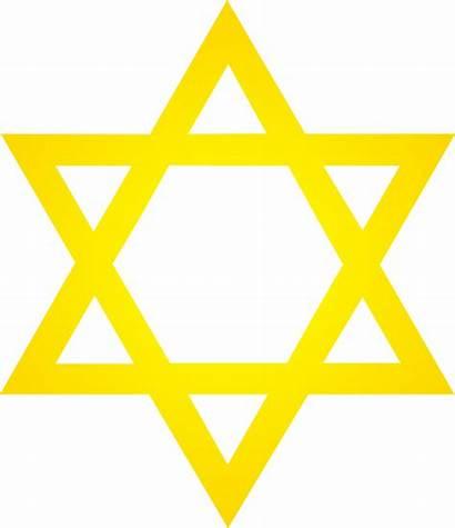 Star David Golden Clip Symbol Gold Sweetclipart