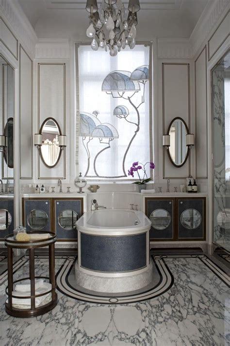 bathroom   paris apartment designed  louis henri