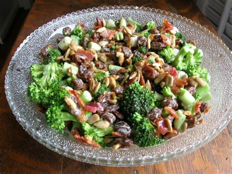 Desserts With Pumpkin Seeds by Broccoli Raisin Salad The Southern Lady Cooks