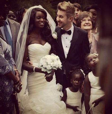 Interracial Wedding Black Woman White Man Interracial