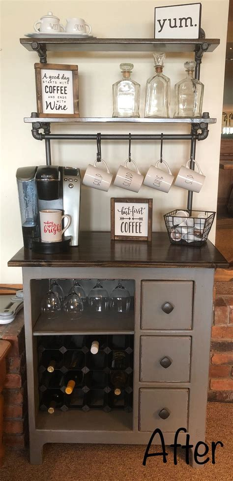 Perk up your morning routine with a home coffee station. Pin on small coffee bar ideas