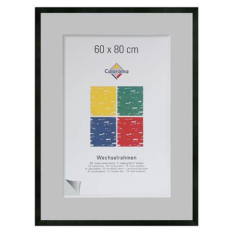 bilderrahmen 60 x 80 colorama bilderrahmen schwarz 60 x 80 cm aluminium matt 6743 alu wechselrahmen