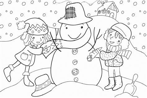 winter season coloring pages crafts  worksheets  preschooltoddler  kindergarten