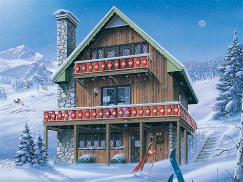 inglewood ski chalet home plan   house plans
