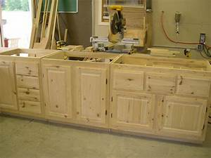Unfinished Wall Mounted Oak Kitchen Cabinet For Large
