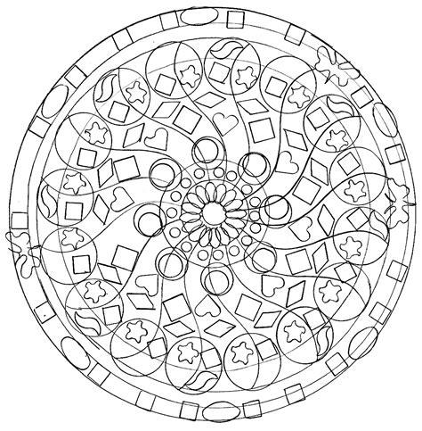 domandala mandala symbols malas adult coloring pages