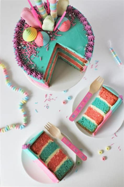 how to decorate a cotton candy cake recipe best