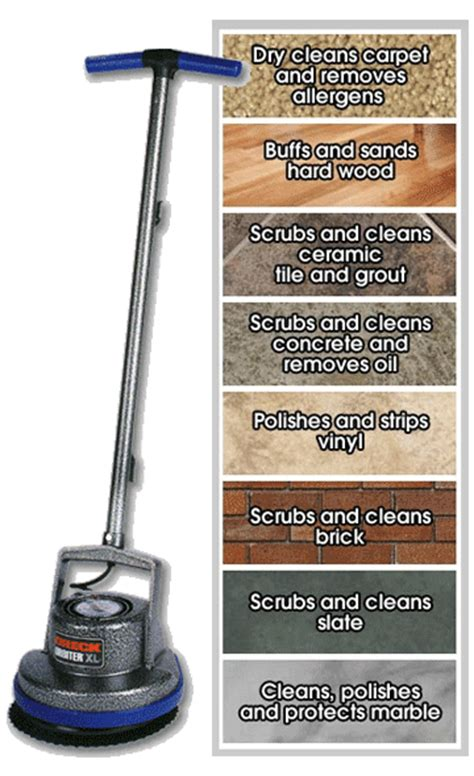 Oreck Tile Floor Scrubber by Floor Cleaning Machine Commercial Residential Oreck