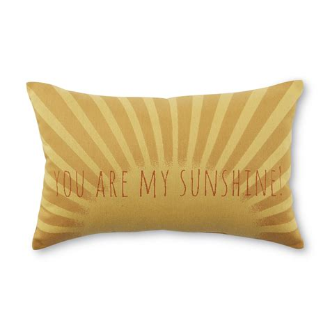 you are my pillow rectangular decorative pillow you are my home