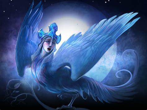 lovely harpy dove gorgonas arpias furias  gargolas