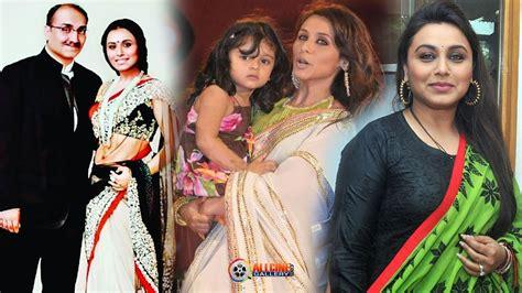 actress kajol husband photos actress rani mukherjee family photos with husband