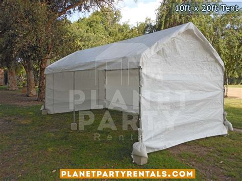 canopy tent rental 10ft x 20ft tent rental