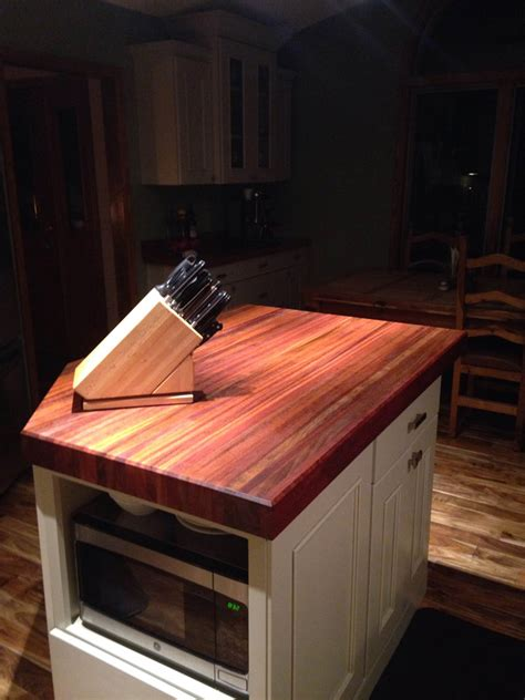 cherry countertops brazilian cherry butcher block countertops country mouldings