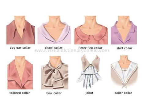 List Of Fashion Terms And Styles Of Collars Of Womens