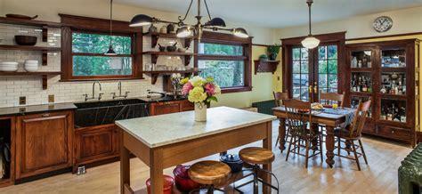 Bright Soapstone Sink Method Portland Craftsman Kitchen