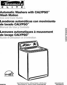Kenmore Elite 11022064101 User Manual Washer Manuals And