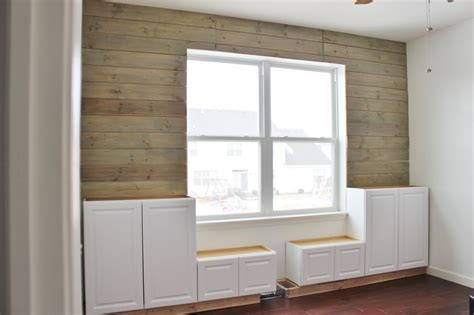 Remodelaholic  Playroom Makeover With Builtin Cabinets