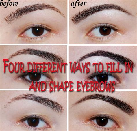 eyebrow sculpting images  pinterest