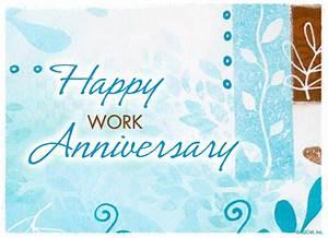 Happy Work Anniversary - Anniversary Ecard American