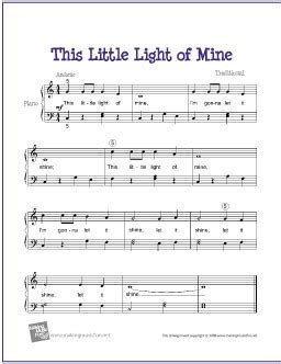 this light of mine chords this light of mine free sheet lyrics