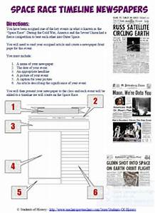 Space Exploration Timeline Worksheet - Pics about space