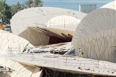 Nationalmuseum Katar In Doha by Jean Nouvel A F A S I A