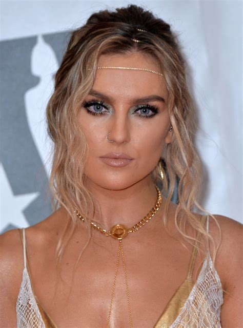 Perrie Edwards Pink Hair