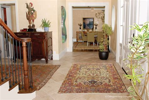 Rugs Home Decor by Serapi Vase Rug Sets The Tone For This Connoisseur