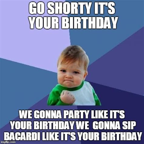 Kids Birthday Meme - success kid meme imgflip