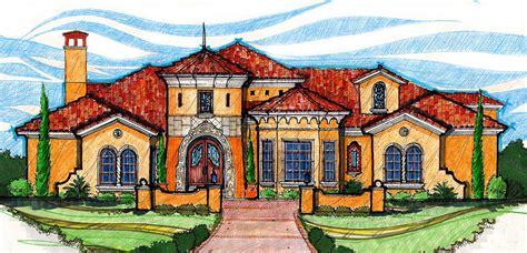 stunning mediterranean villa cl architectural designs house plans