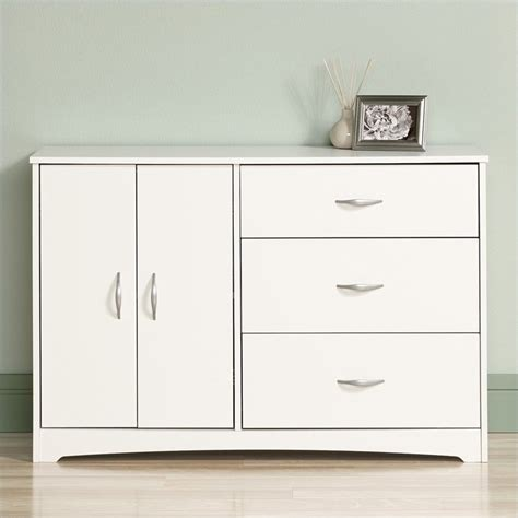 Sauder Beginnings Dresser White by Sauder Canada