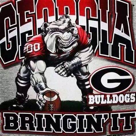 georgia bulldogs images  pinterest collage