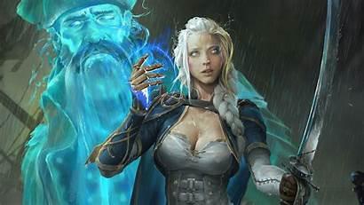 Jaina Warcraft Proudmoore 4k Wow Battle Azshara