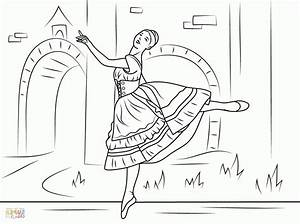 Swan Lake Ballet Pages Coloring Pages