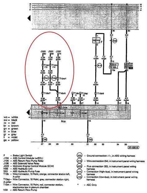 1999 audi a4 1 8t wiring diagram 1999 get free image