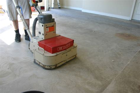 garage floor paint prep epoxy garage floors the right way with golden rule painting golden rule painting wisconsin