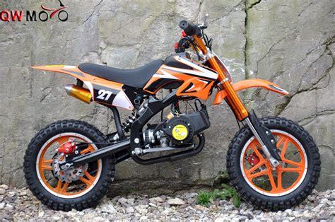 Qwmoto Kids Pitbike 50cc Mini Moto 2 Strokes Cross Bike