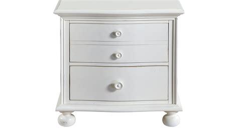 seaside white nightstand traditional