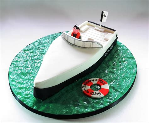 Speed Boat Birthday Cake speed boat birthday cake cakecentral