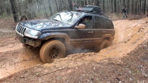jeep cherokee off road tires best off road jeep grand cherokee wj and tires youtube